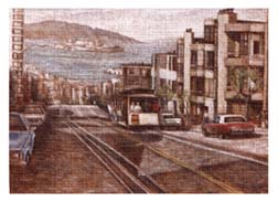 Painting of San Francisco