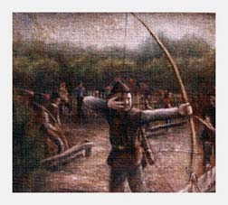 Painting of Robinhood Archery Club